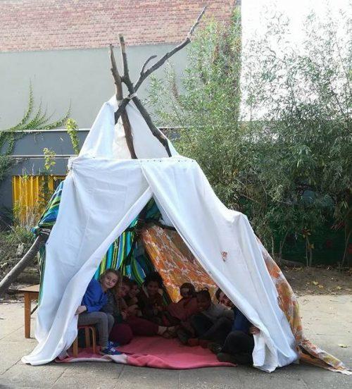 Kamp bouwen - Orvita